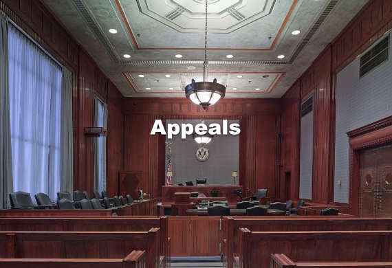 courtroom appeals lawyer california