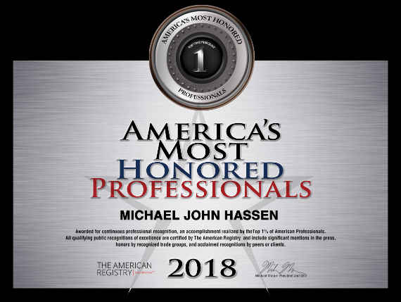 2018 America's Most Honored Professionals-Top 1%