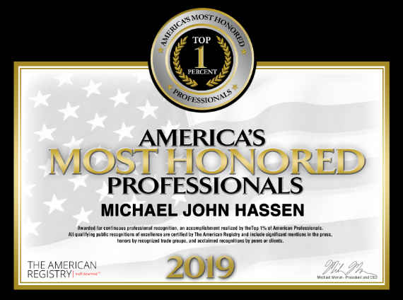 2019 America's Most Honored Professionals-Top 1%