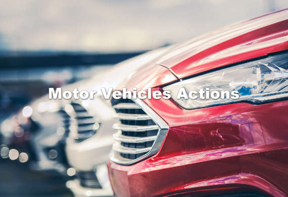 motor vehicles lawyer california