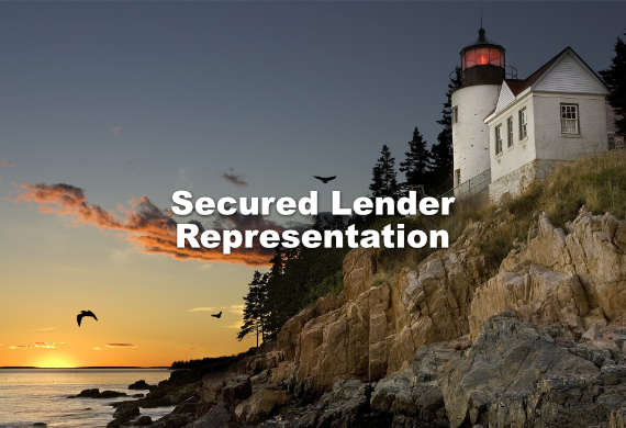 secured lender representation lawyer